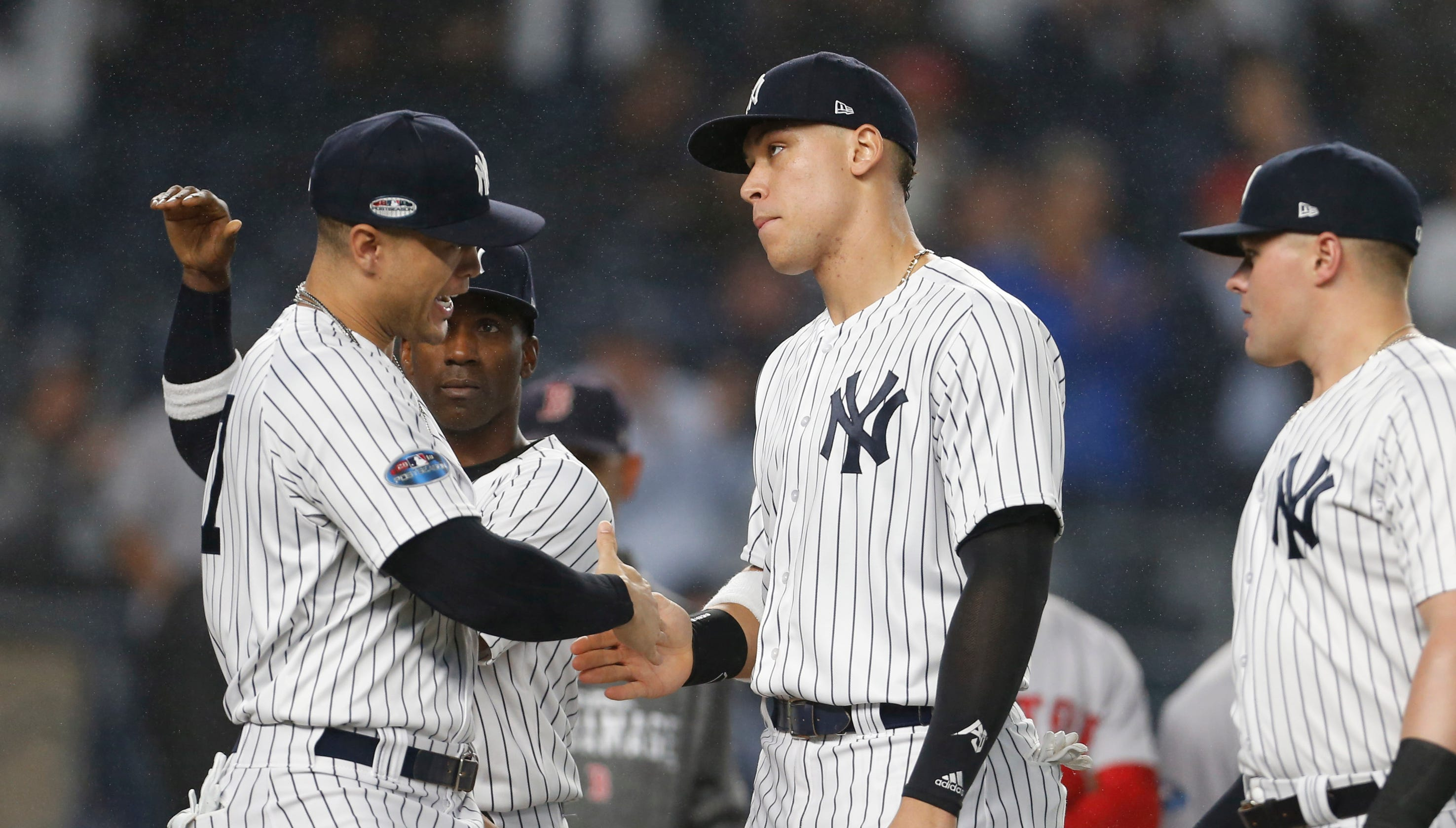 mlb playoffs where do the yankees go from here