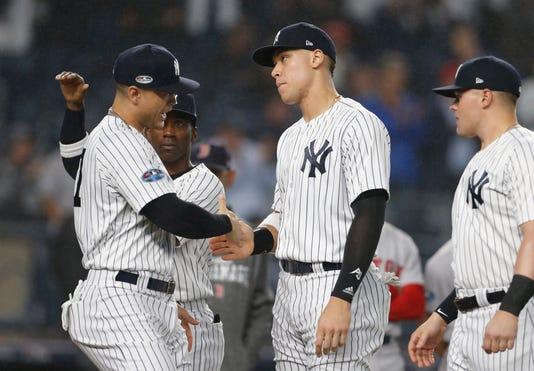 Usp Mlb Alds Boston Red Sox At New York Yankees S Bba Nyy Bos Usa Ny
