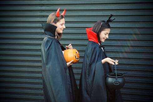 The city of Chesapeake, Virginia has an ordinance that bans anyone 13 years and older from trick or treating.