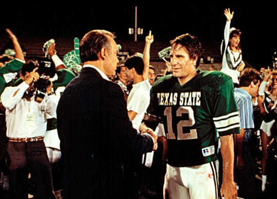 """An aging quarterback (Scott Bakula) makes the most of his chance at college football in """"Necessary Roughness."""""""
