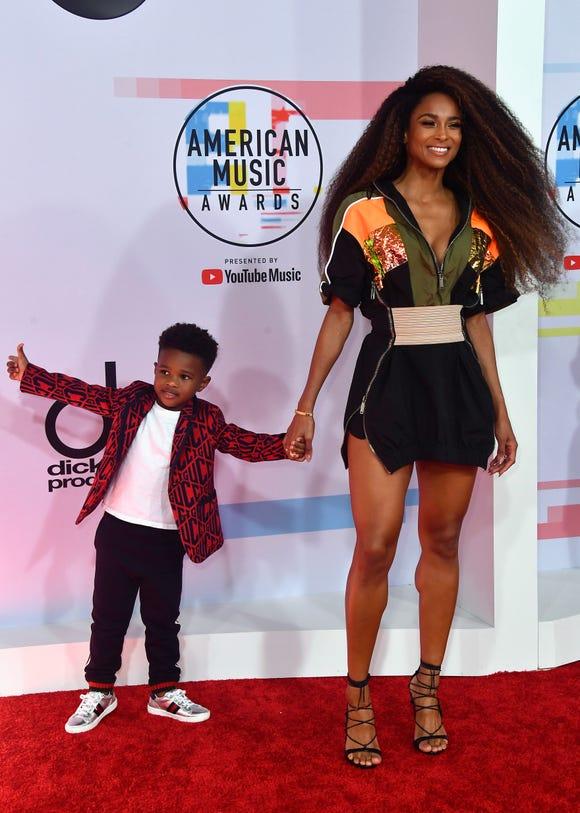 Ciara and son Future Zahir