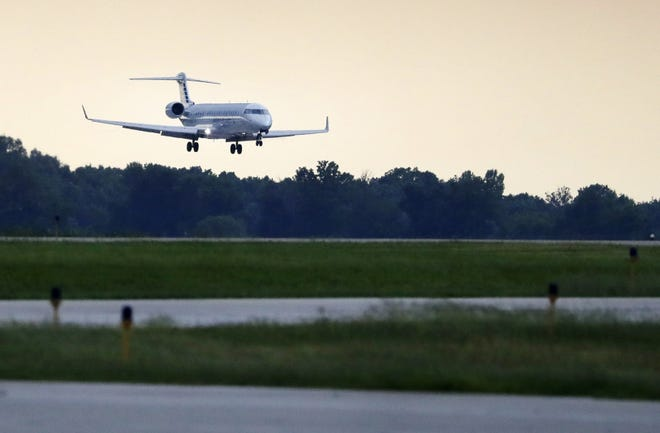 Appleton International Airport is located just west of Appleton. Danny Damiani/USA TODAY NETWORK-Wisconsin