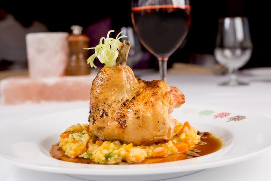 Roast organic chicken with farro will be featured on the Jersey Shore Restaurant Week menu at Drifthouse by David Burke in Sea Bright.