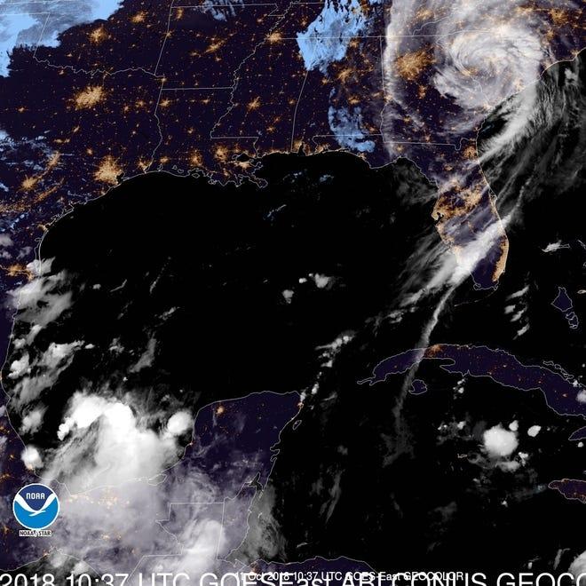 Tropical Storm Michael 6 a.m. Oct. 11, 2018