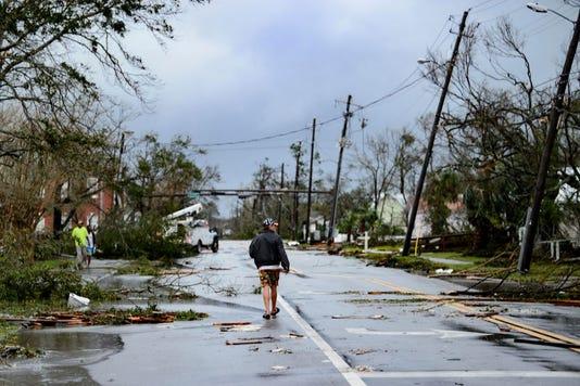 Topshot Us Weather Hurricane