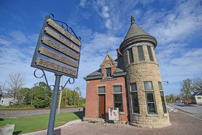 A weekend celebration will show off the Bucyrus depot of the Toledo and Ohio Central railroad line.