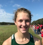 Rockport-Fulton runner Kaylee Howell