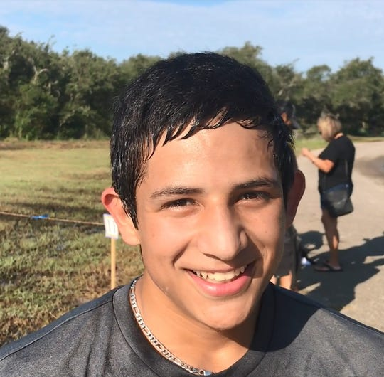 Orange Grove runner Jake Trevino
