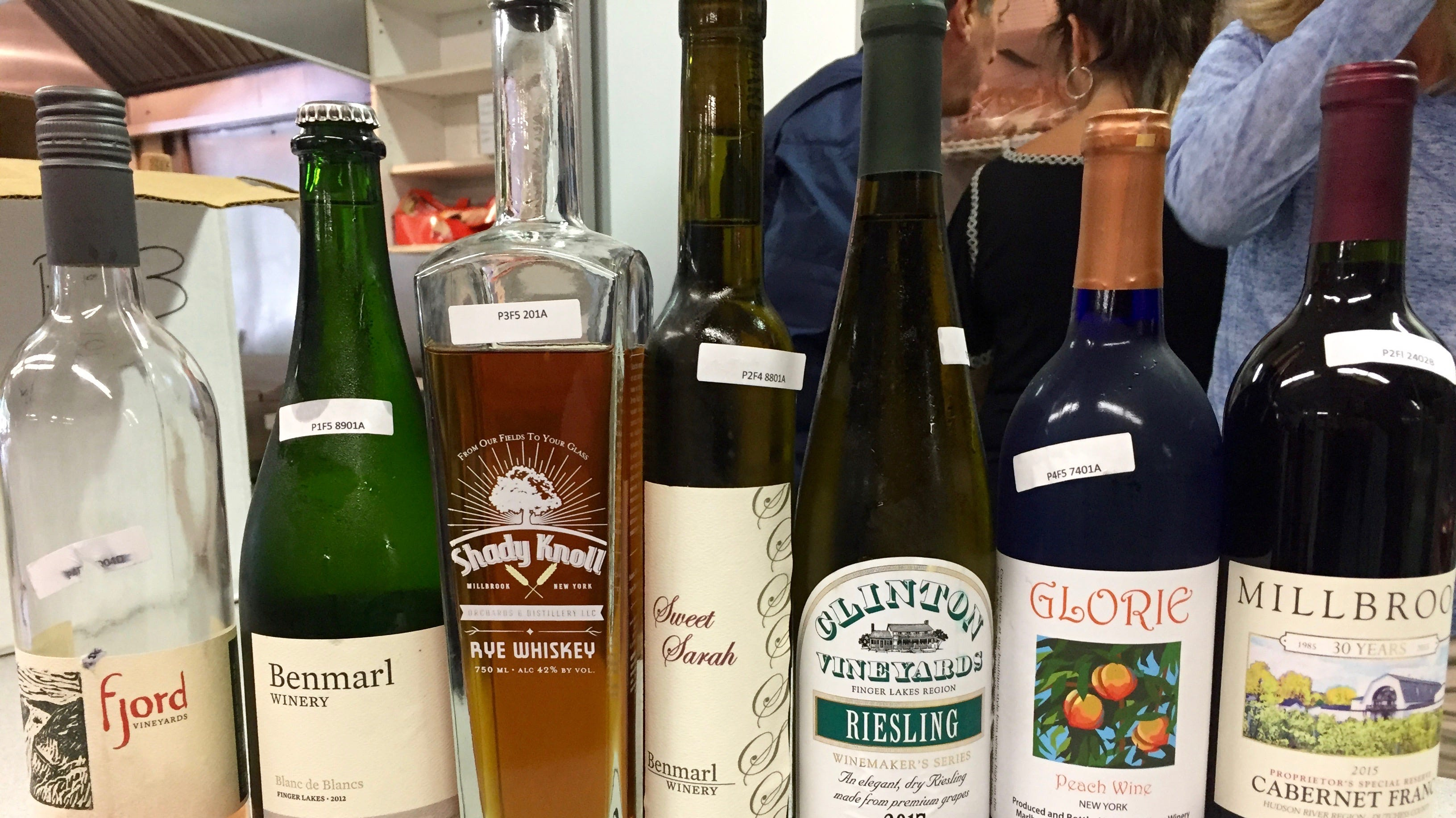 Hudson Valley Wine & Spirits Competition top winners.