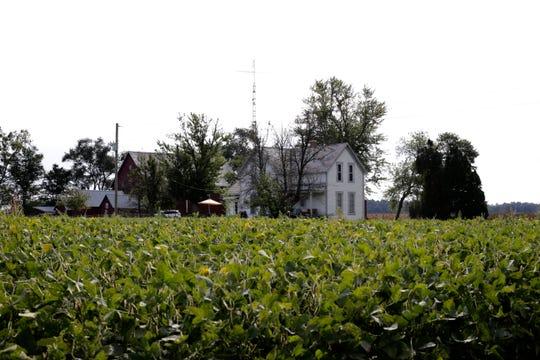 The farmhouse where Neil Armstrong was born outside of Wapakoneta, Ohio.