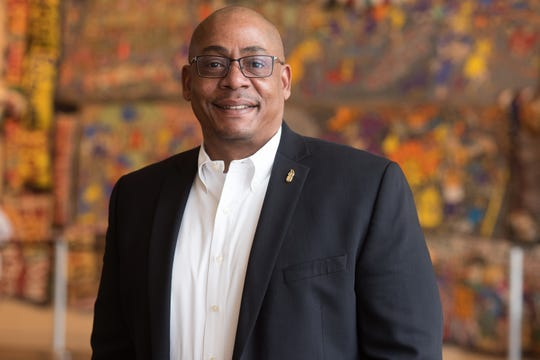 Dion Brown, president of the National Underground Railroad Freedom Center.