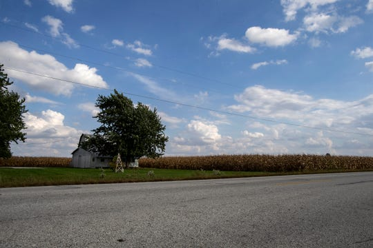 The approximate location of the former Port Koneta airstrip where Neil Armstrong learned to fly airplanes.