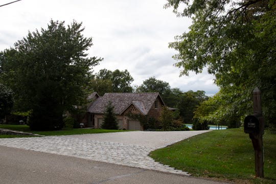 The former home of Neil Armstrong in Indian Hill.