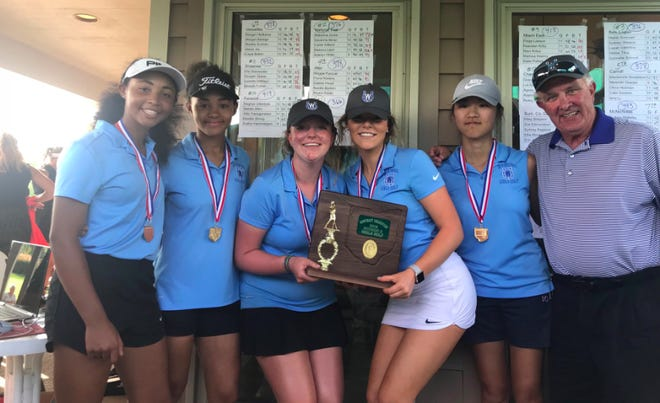 The Wyoming girl's golf team will compete for a state championship for the first time.