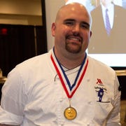 Chef Andrew Cardillo of the Des Moines Marriott Downtown