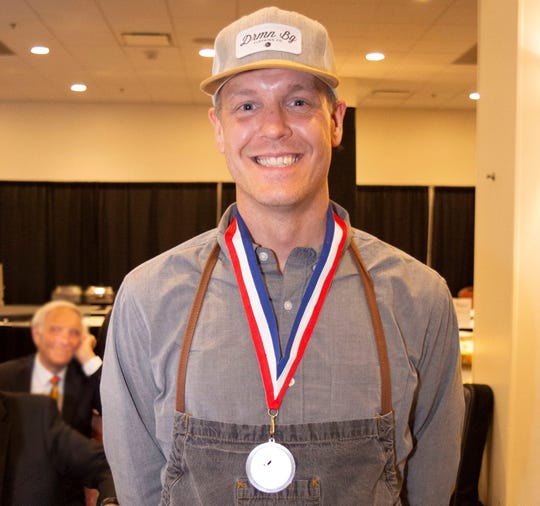 Chef Aaron Holt, Executive Chef/Co-General Manager of RoCA in Des Moines was named Chef of the Year in 2018.