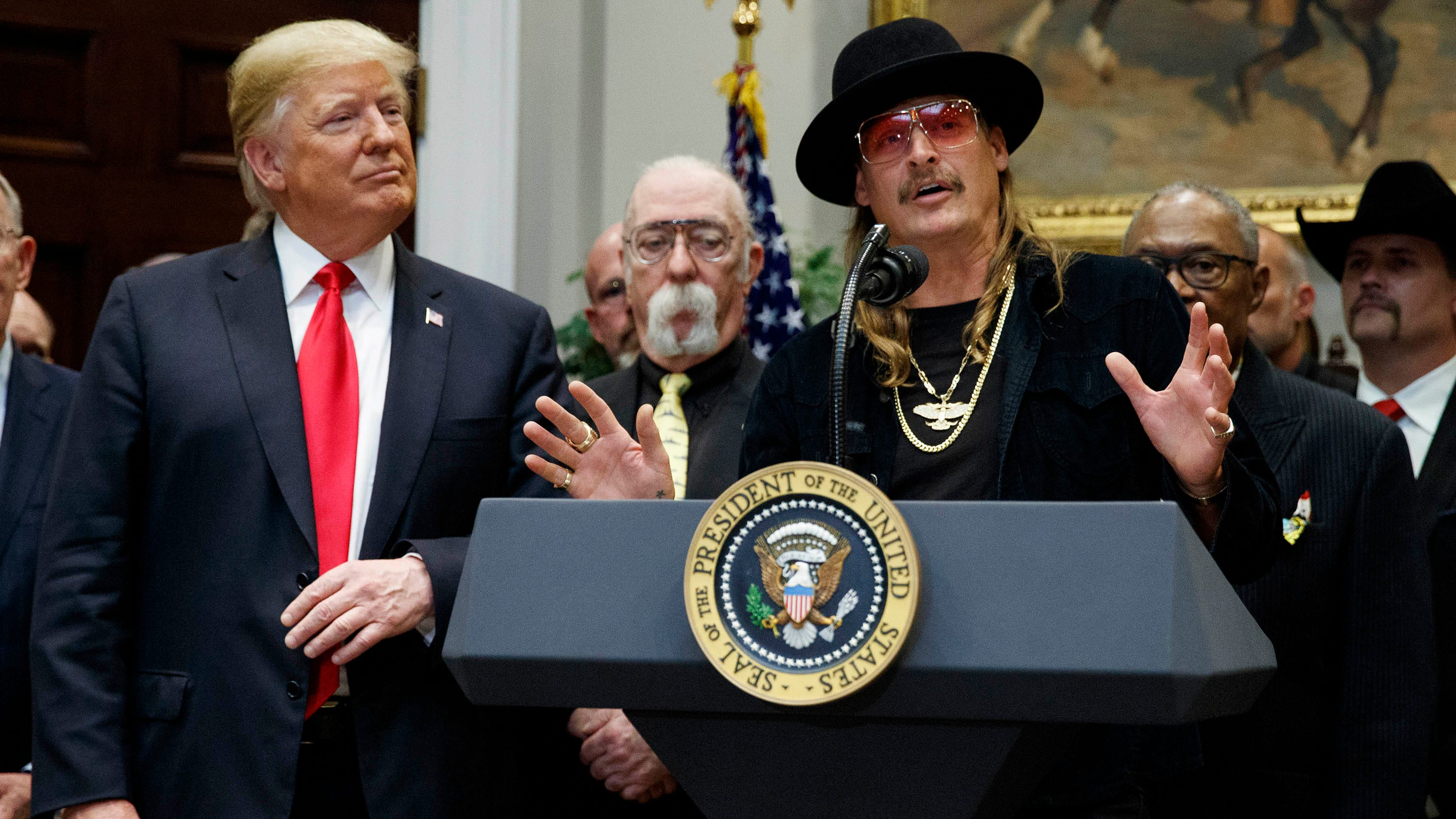 Kid Rock To Join Trump Rally In Michigan With Donald Trump Jr