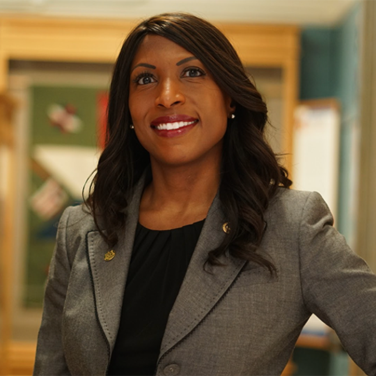 Democrat Brianna Scott is running for a seat on Michigan State University's Board of Trustees