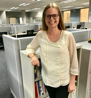 Gillian Ogilvie, manager of maternal and early childhood services at Starfish Family Services, stands Wednesday, Oct. 10, 2018 in the Partnering with Parents Center in Dearborn, where she will help manage day to day services.