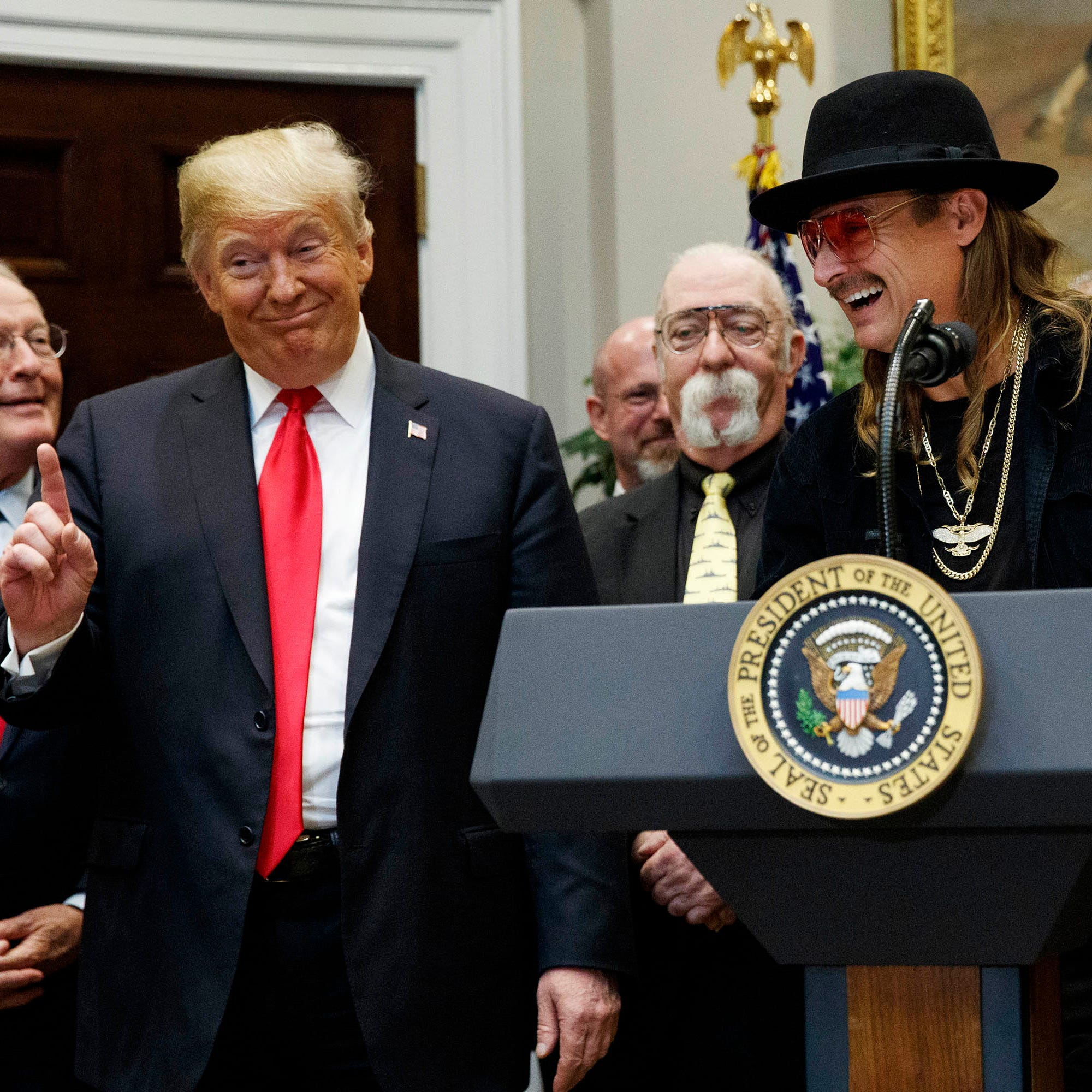 Kid Rock spotted at the White House again: Here's what we know