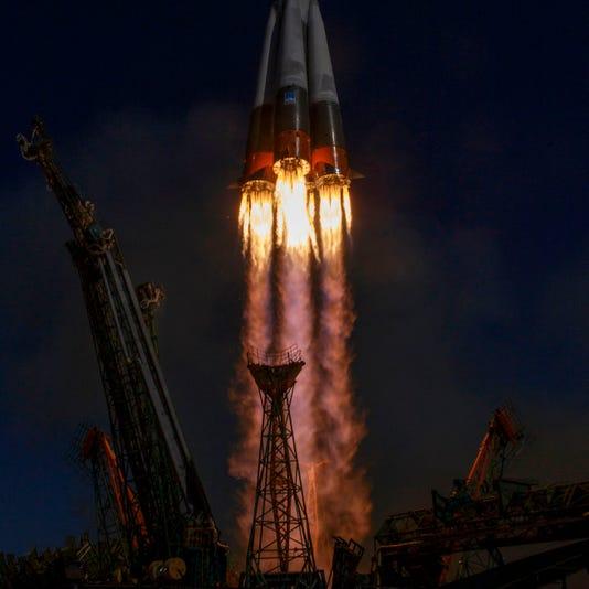 Kazakhstan Russia Us Space Iss