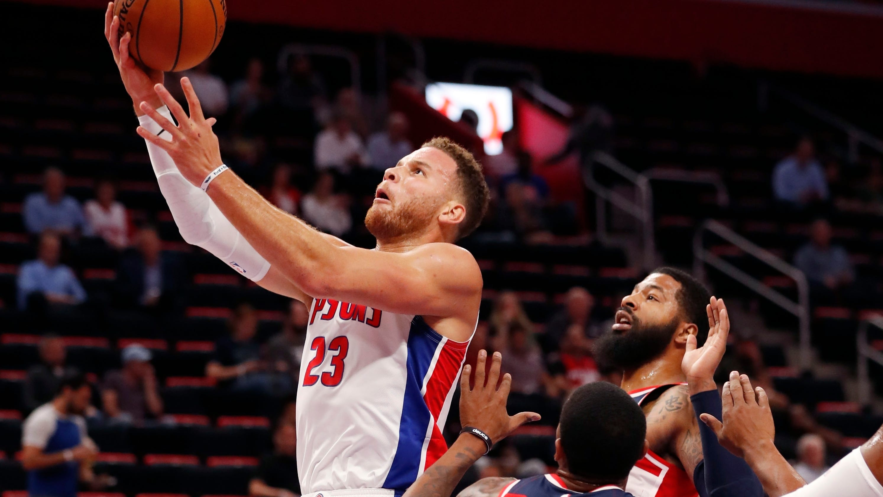 7f989c407be Detroit Pistons' Blake Griffin, fully healthy, out to silence doubters