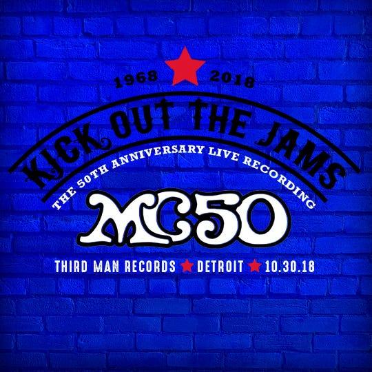 MC50 'Kick Out the Jams' show at Third Man on Oct. 30, 2018