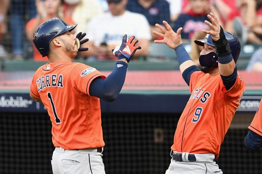 Divisional Round Houston Astros V Cleveland Indians Game Three