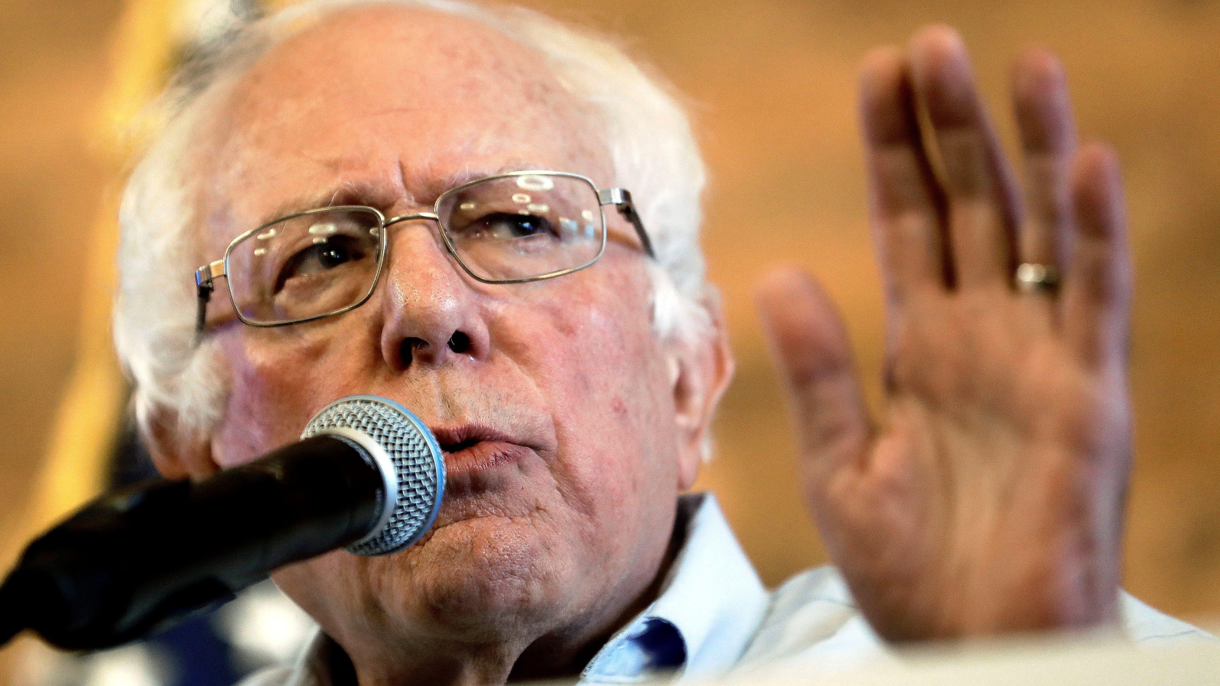 Bernie Sanders rallies for Gretchen Whitmer, rails on President Trump