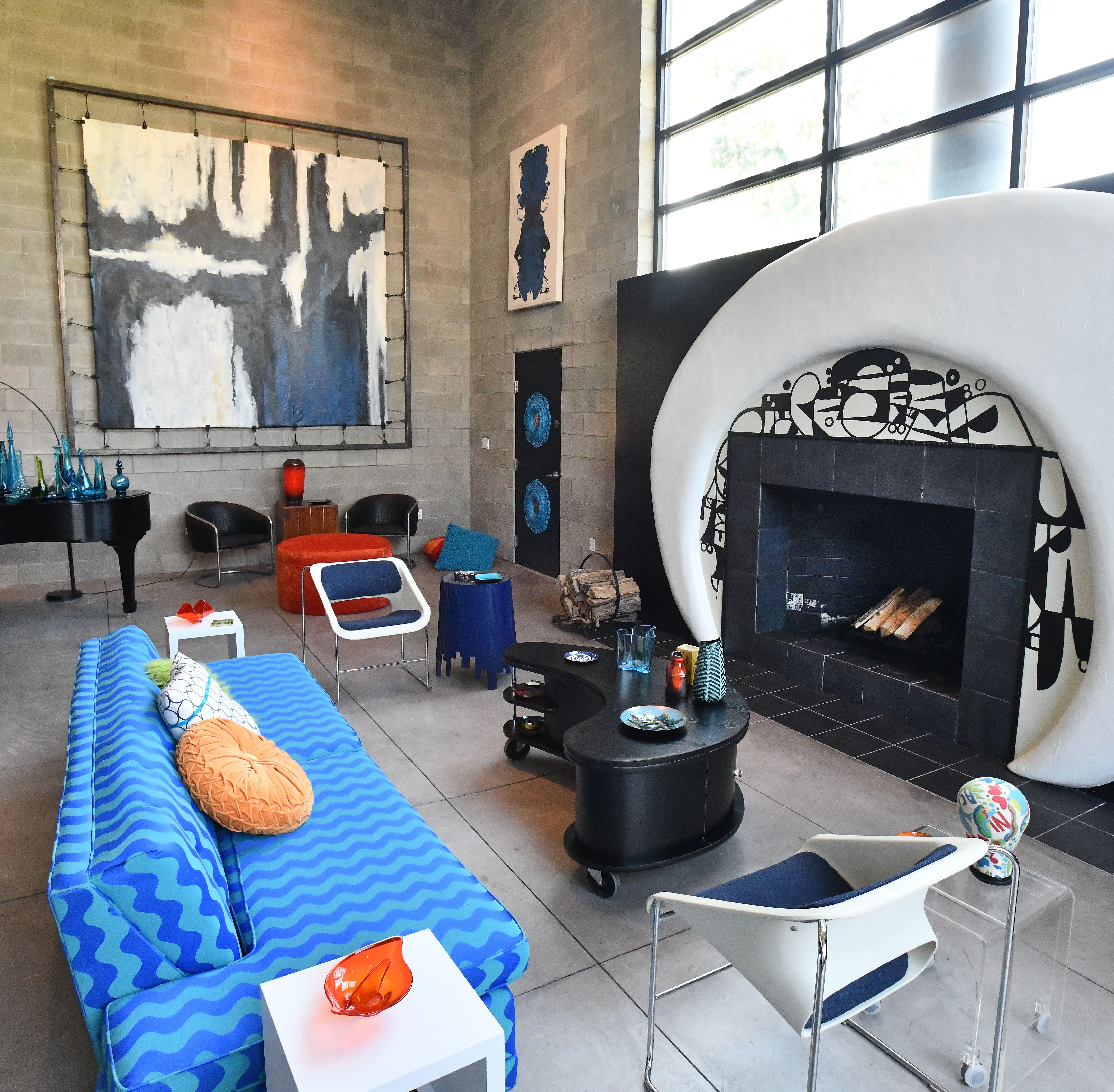 'Fortress of Fun' in Detroit lives up to its name as live-work space