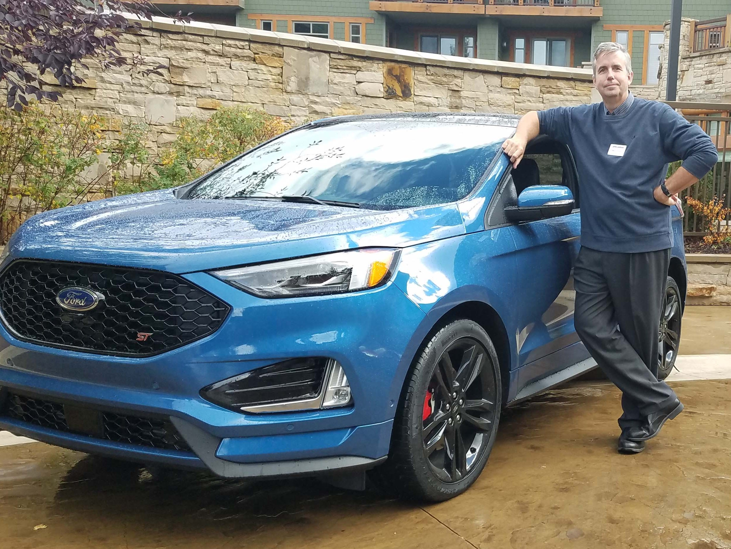 Detroit News auto critic Henry Payne flogged the 2019 Ford Edge ST all over Utah.