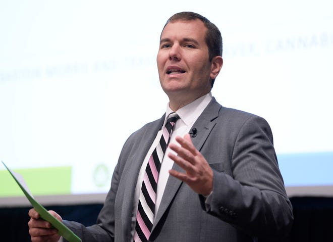 Andrew Brisbo, LARA, director of the Bureau of Medical Marijuana Regulation State of Michigan