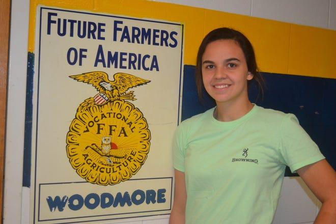 Alexandra Liskai is this year's Woodmore FFA president.