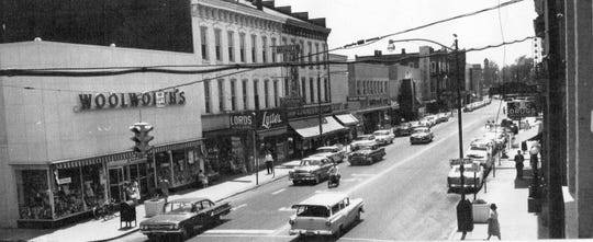 Lytle's, two stores down from Woolworth's in this photo from the 1960s, was a classy place in Fremont history for more than 100 years.