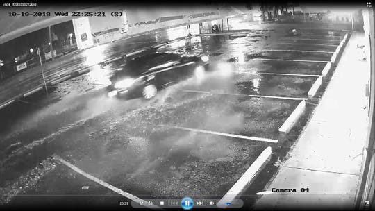 Police have released video stills from surveillance cameras in Sungold Plaza, where two men were fatally shot Wednesday night.