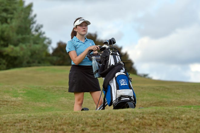 St. Joseph's Catholic School eighth-grader Marett Cole, a member of the girls golf team, was diagnosed with Stage 4 neuroblastoma just after her first birthday.