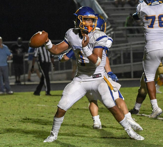 Wren senior quarterback Tyrell Jackson, a Mr. Football finalist, has passed for 2,298 yards with 30 touchdowns.