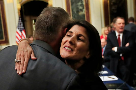 Nikki Haley Ryan Zinke
