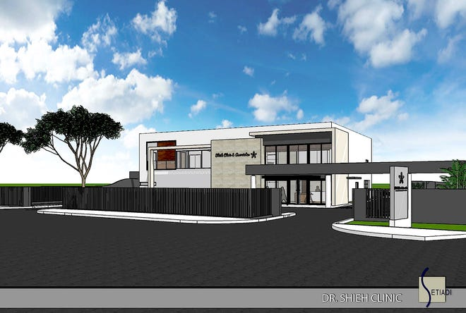 Rendering of the new Dr. Shieh Clinic