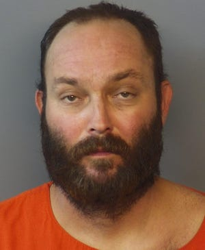 Bryan Casey, 40, was found unresponsive in his cell on Tuesday night, according to the Hendricks County Sheriff's Office.