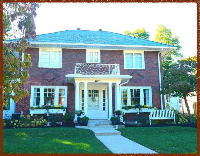 This home at 4820 Washington Blvd. is among six on the Midtown Holiday Home Tour Nov. 10-11.