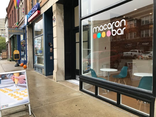 Macaron Bar opened Oct.  5, 2018, at 425 Mass Ave., across from Starbucks, Indianapolis.