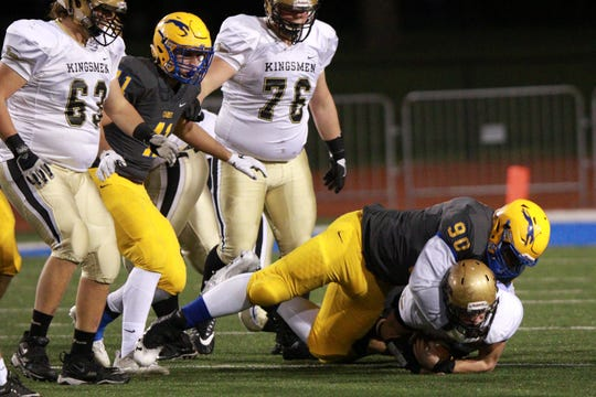 Carmel's Cole Brevard (90) is the state's top-rated junior.