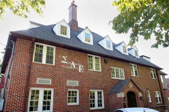 In this Sept. 27, 2012 file photo, Sigma Alpha Epsilon is seen at 302 Ridgeland Avenue. In 2012 the, then 107 year-old institution closed its doors and expelled it's members due to hazing, according to a statement released by Sigma Alpha Epsilon's national headquarters.