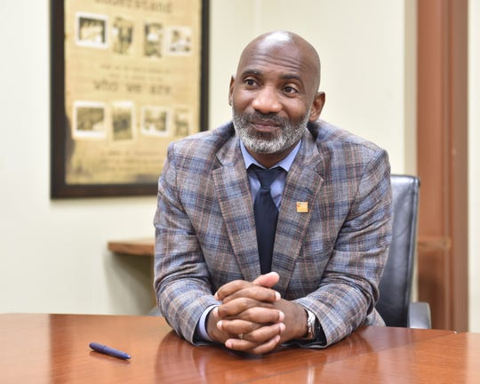 Errick Greene has been the superintendent of Jackson Public Schools since the fall of 2018.