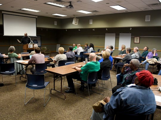 The Madison County Democratic Party met at The Jackson-Madison County Library, Thursday, October 11.