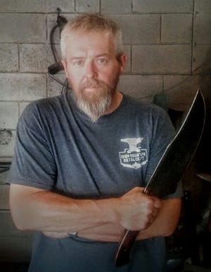 """Pigeon Forge's David Martin will compete on the History Channel knife obstacle course show, """"Forged in Fire: Knife or Death."""""""