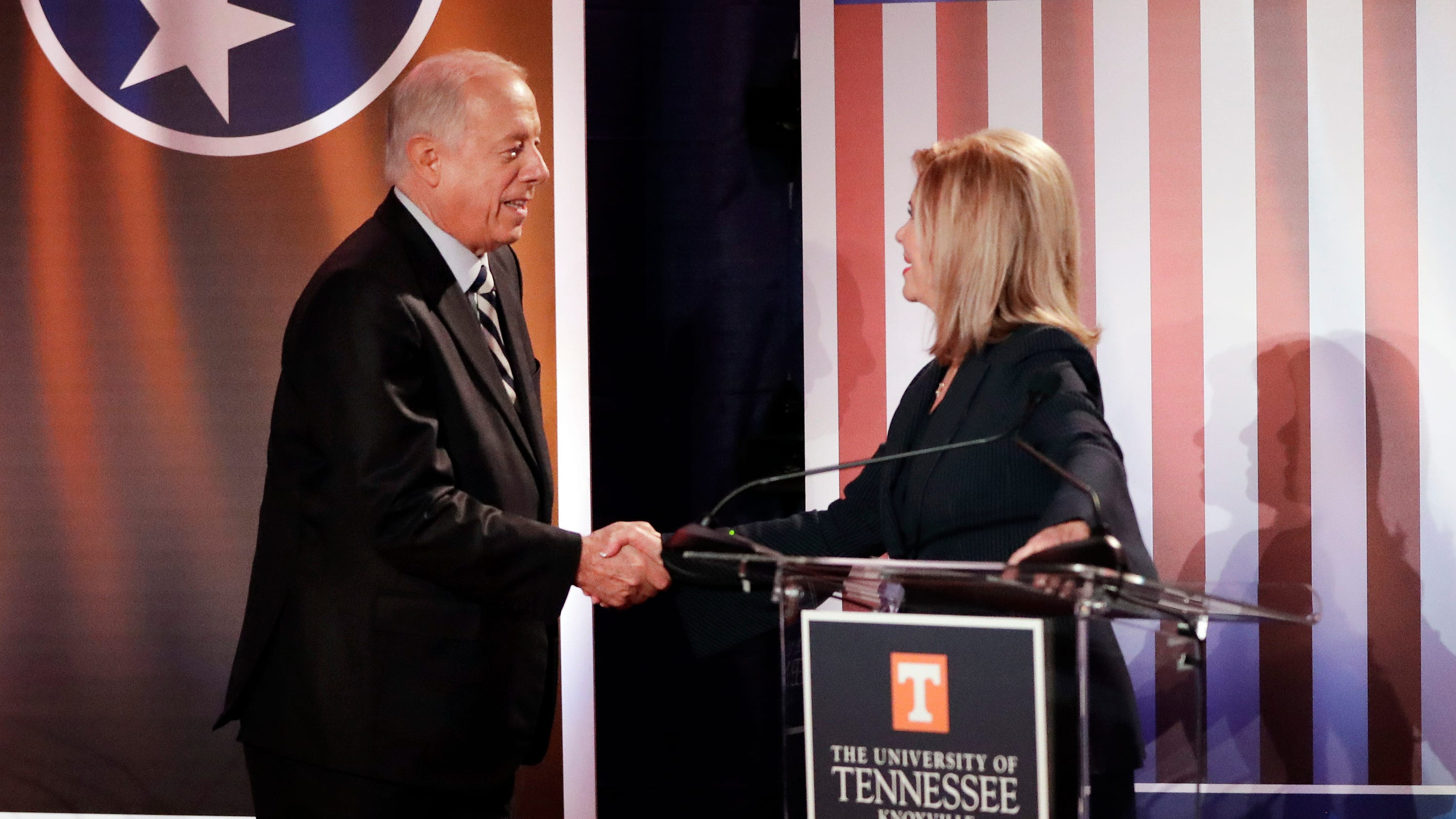 Tennessee elections: Blackburn, Bredesen spar in final debate