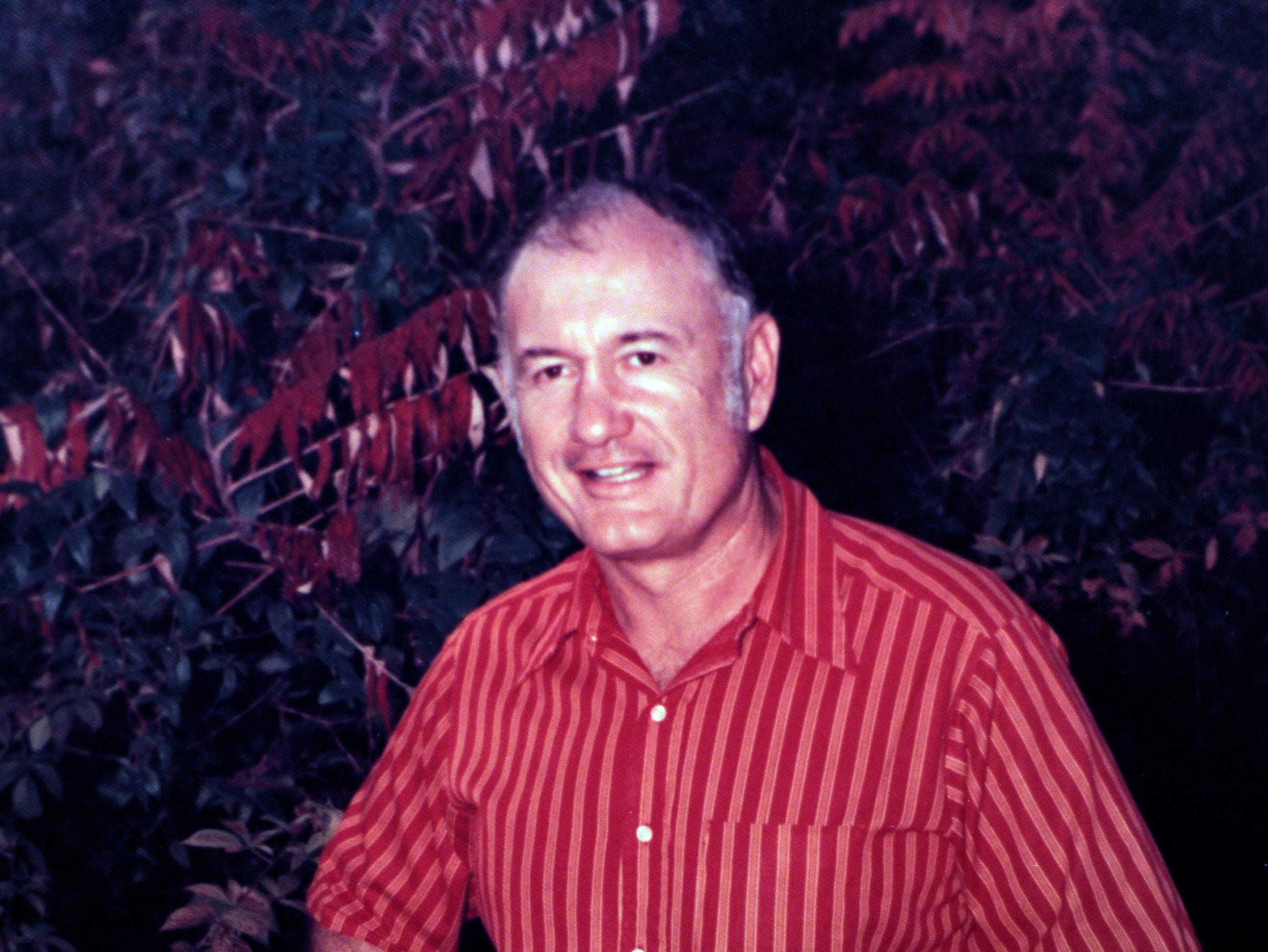 A 1972 family photograph of Bill Clabo, who was a Young High School football coach for years. On Sept. 25, Duff Park in South Knoxville is being renamed in Clabo's honor.