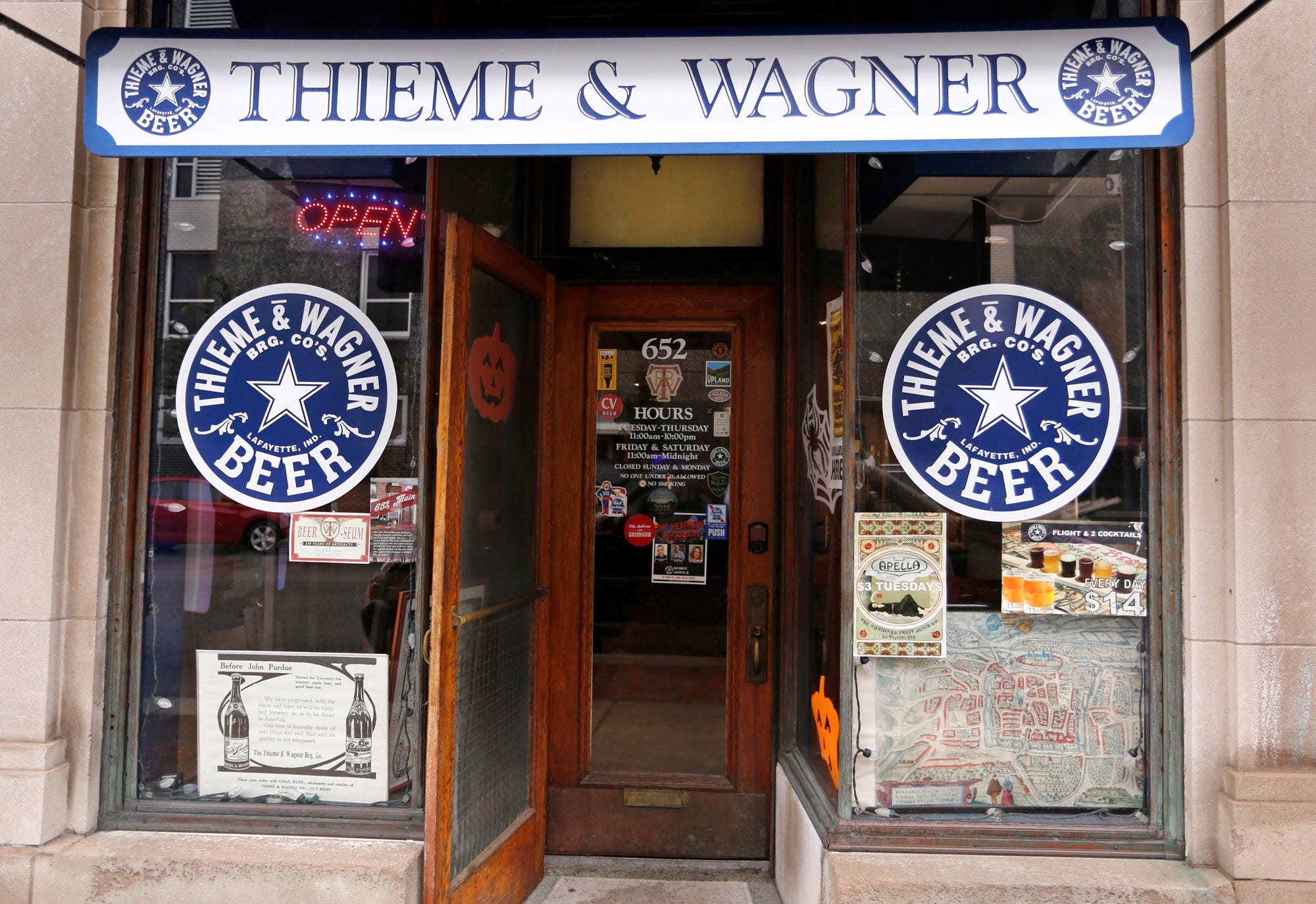 Thieme & Wagner Brewery Wednesday, October 10, 2018, at 652 Main Street in Lafayette.